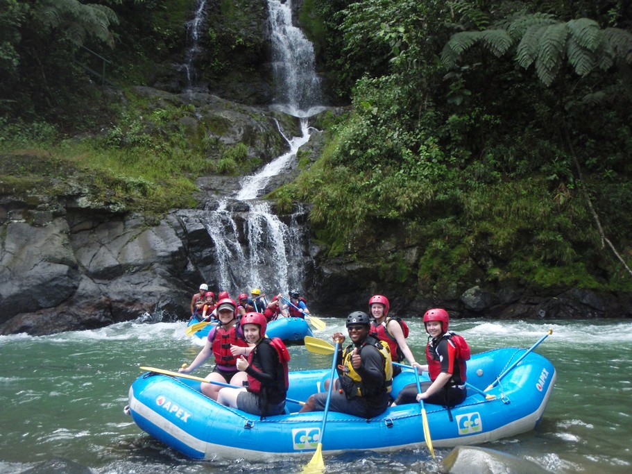 Time for some river rafting!