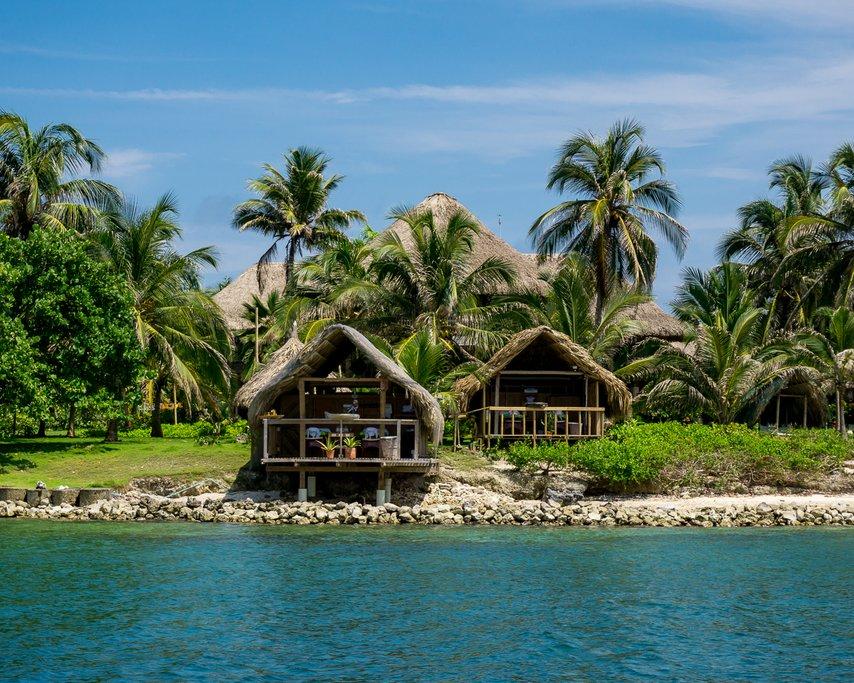 Punta Faro's exclusive bungalows