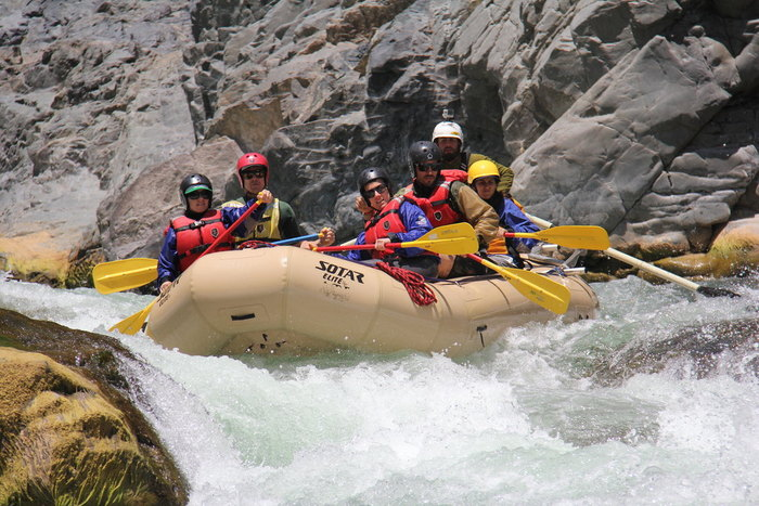 River Rafting: Black Canyon / Rocoto Bridge-Apurimac River