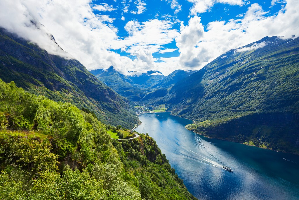 UNESCO-listed Geirangerfjord