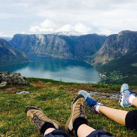 In Aurland | hiking with a local guide