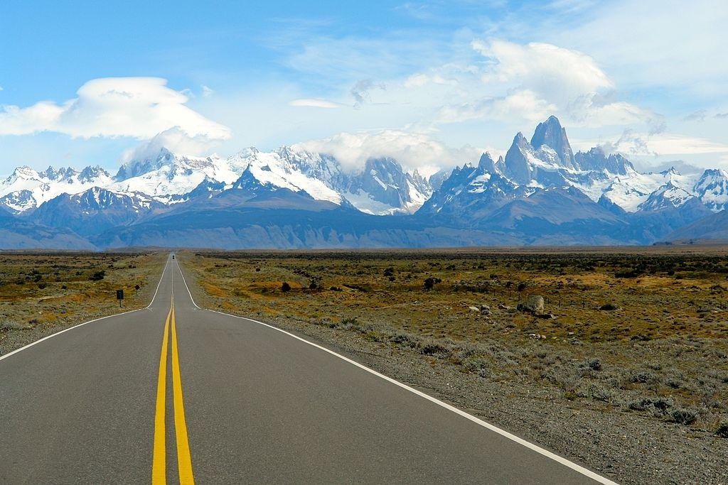 Journey down the famous Ruta 40, in Patagonia