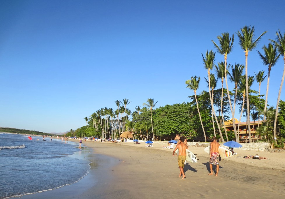 Playa Tamarindo on Costa Rica's Pacific coast