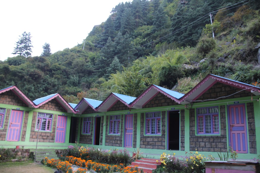 Tea house in Chame
