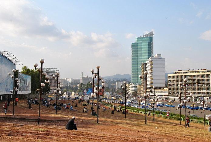 Addis Ababa, arrival and city tour