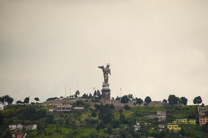 Arrival in Quito