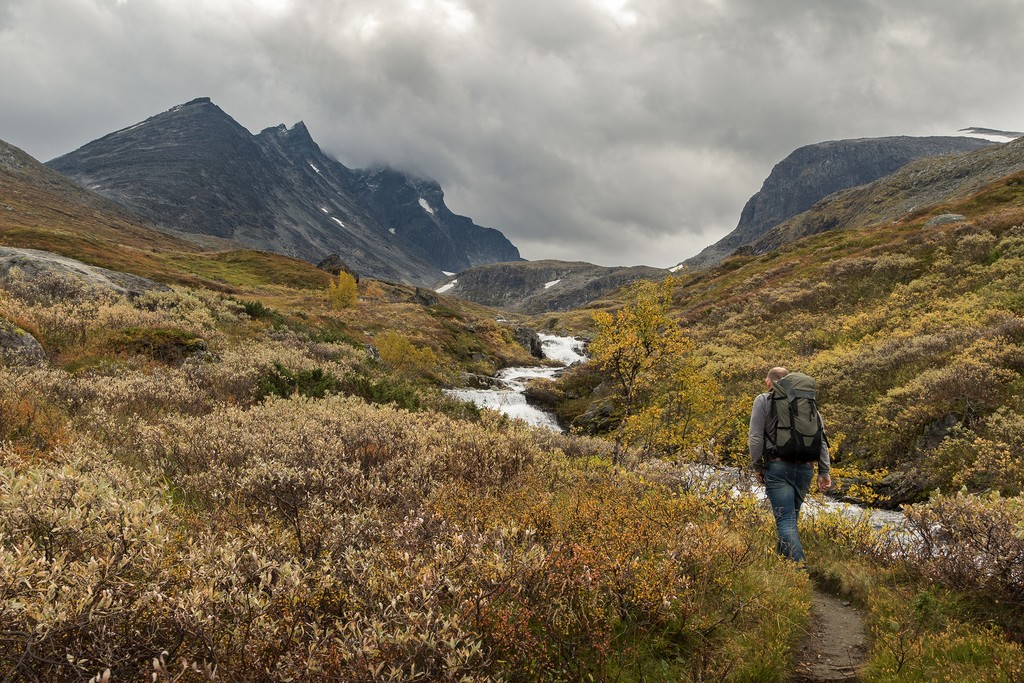Views of Norway's rugged interior