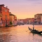 Enjoy a sunset gondola ride