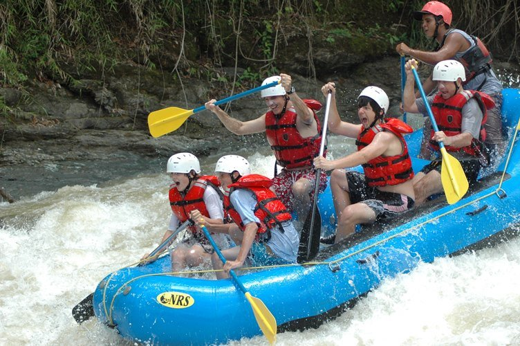 Tackle category III-IV rapids with your expert rafting guide