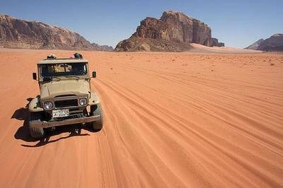 Petra - Wadi Rum - Full day Jeep tour  - Wadi Rum.