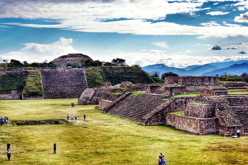 Monte Albán's Archaeological site