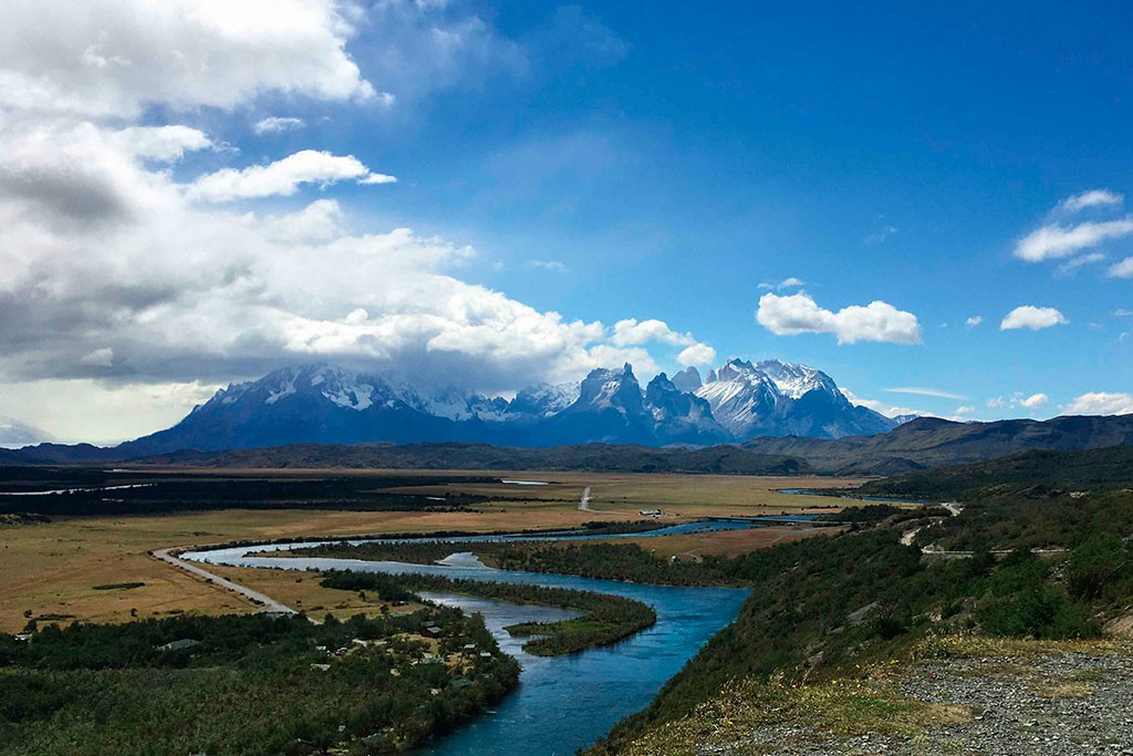One of many incredible views in Torres del Paine