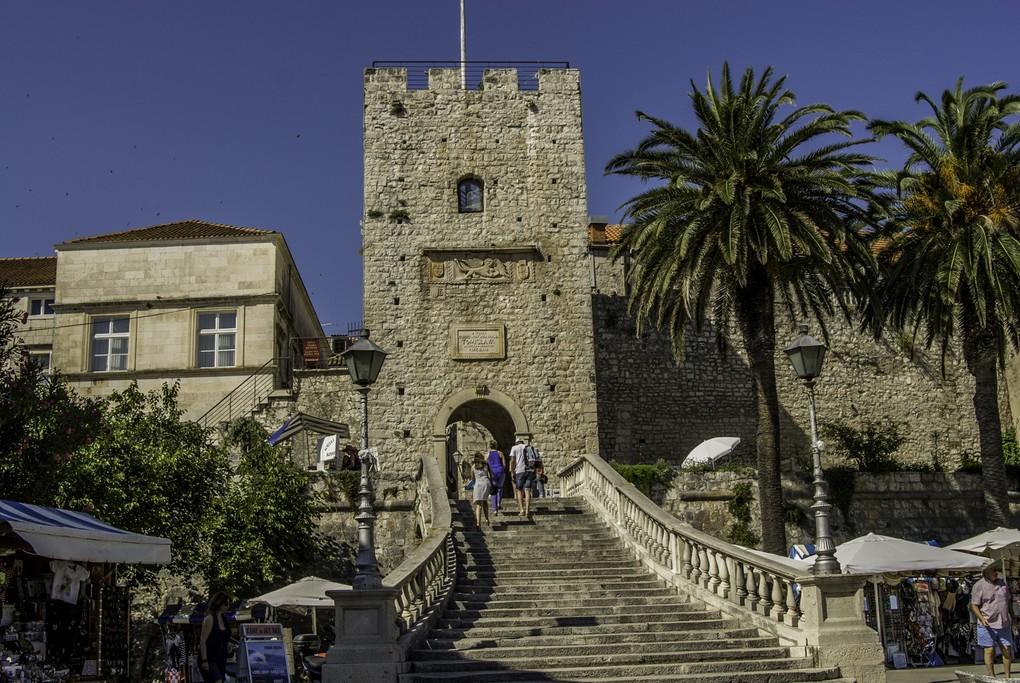 Korčula city gates