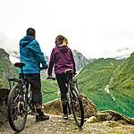 Rent mountain bikes in Haugasøl.