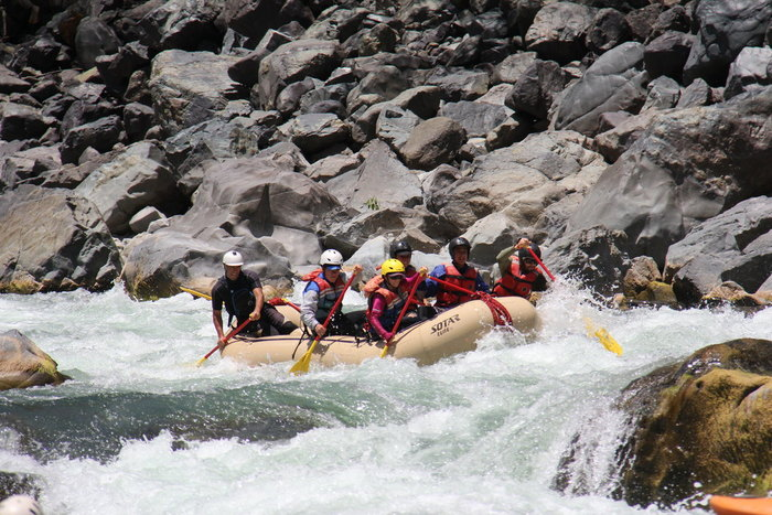 River Rafting: Encountering Santo Tomás River
