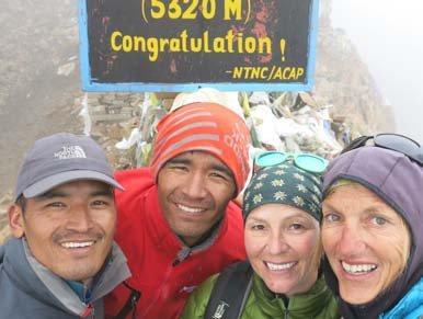 Trek to Ngawal 3675m via the Kang La Pass (5,240m)