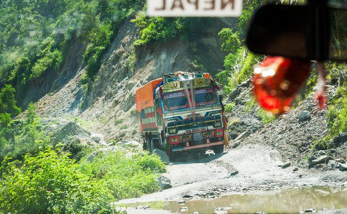 Drive to Sotikhola via Arughat by jeep