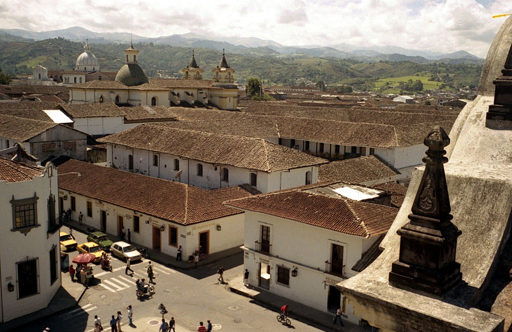 Panoramic of Popayán