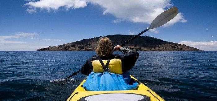Kayaking Llachon / Taquile