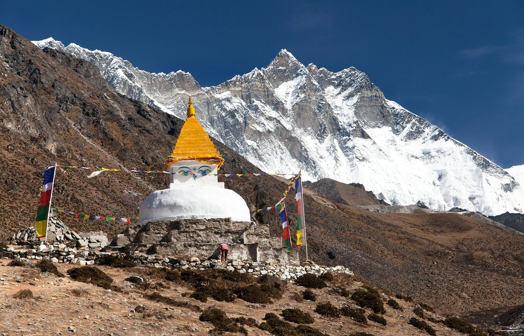 A typical stupa sighting on this trek