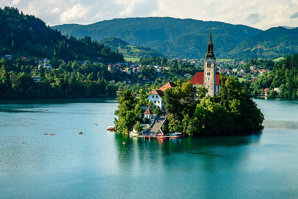 The Pilgrimage Church of the Assumption of Maria on Bled Island