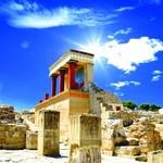 The ruins at Knossos