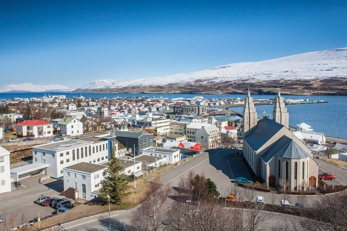 North Iceland and Akureyri