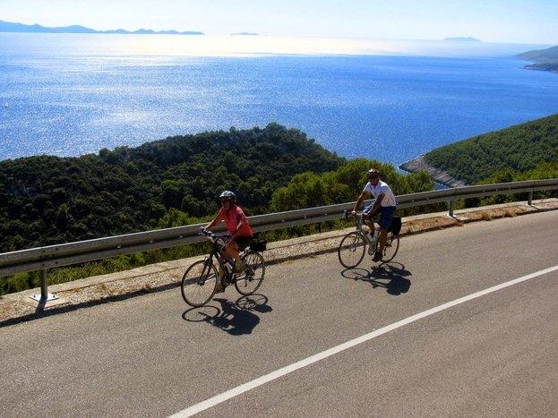 Bike tour Korcula