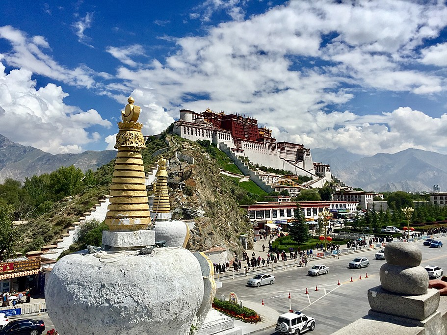The landmark of Tibet-Potala Palace