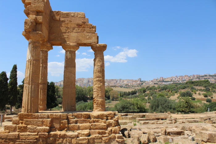 Agrigento and Palermo