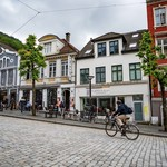 Explore Bergen's cobblestone streets by foot or bicycle.