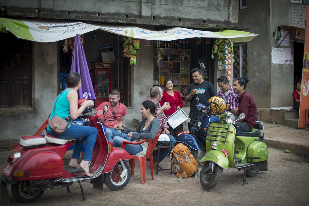 Kathmandu Vespa tour