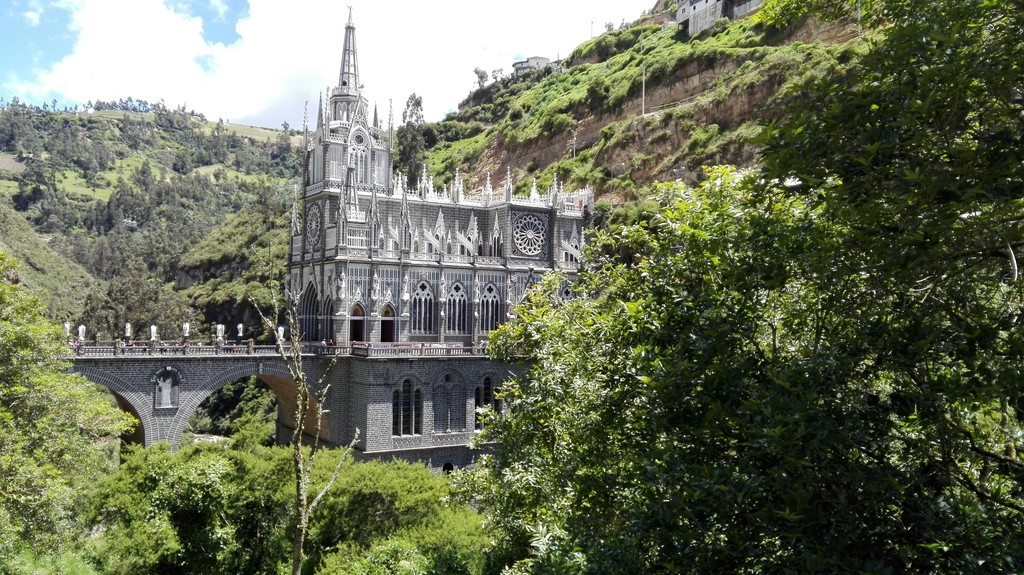 Nuestra Señora de Las Lajas is the subject of myth and legend