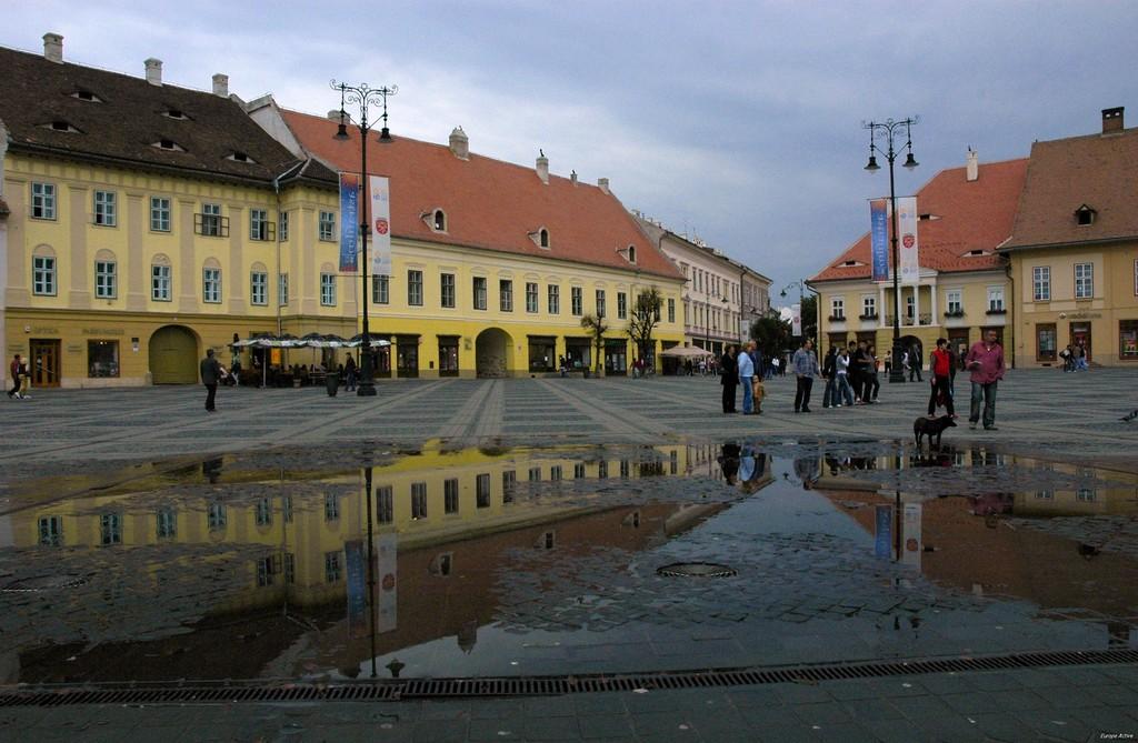Sibiu's old town