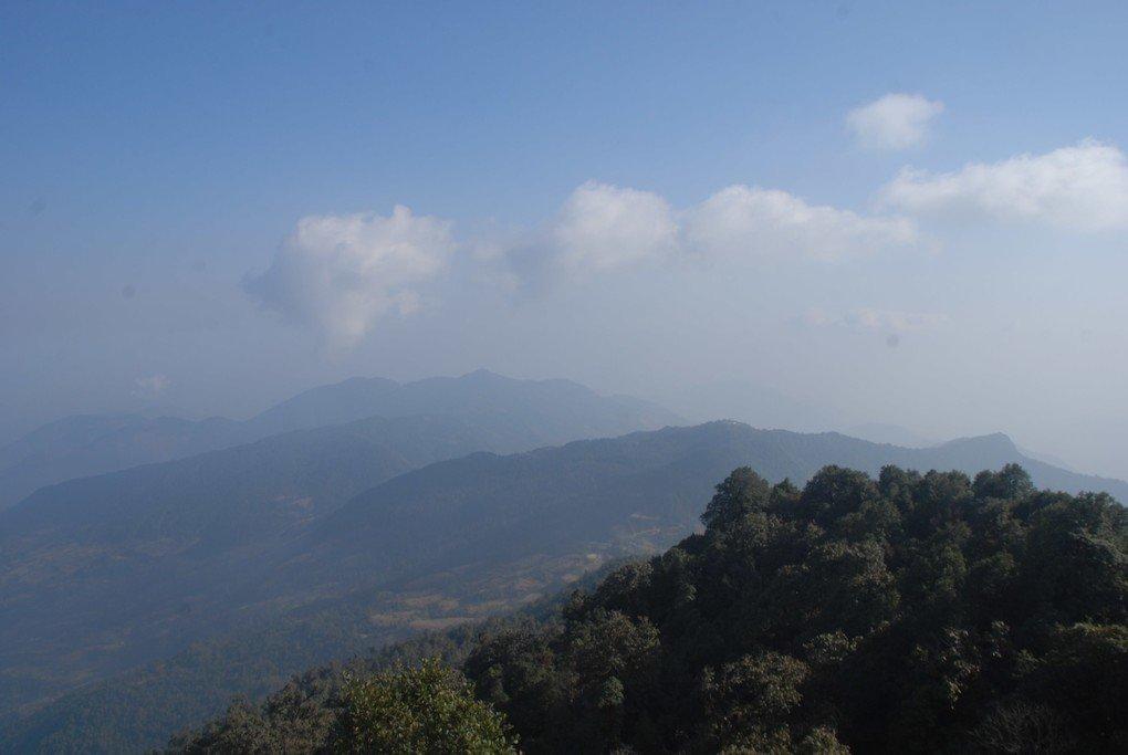 Visit Sarangkot Hill for beautiful panoramic vistas