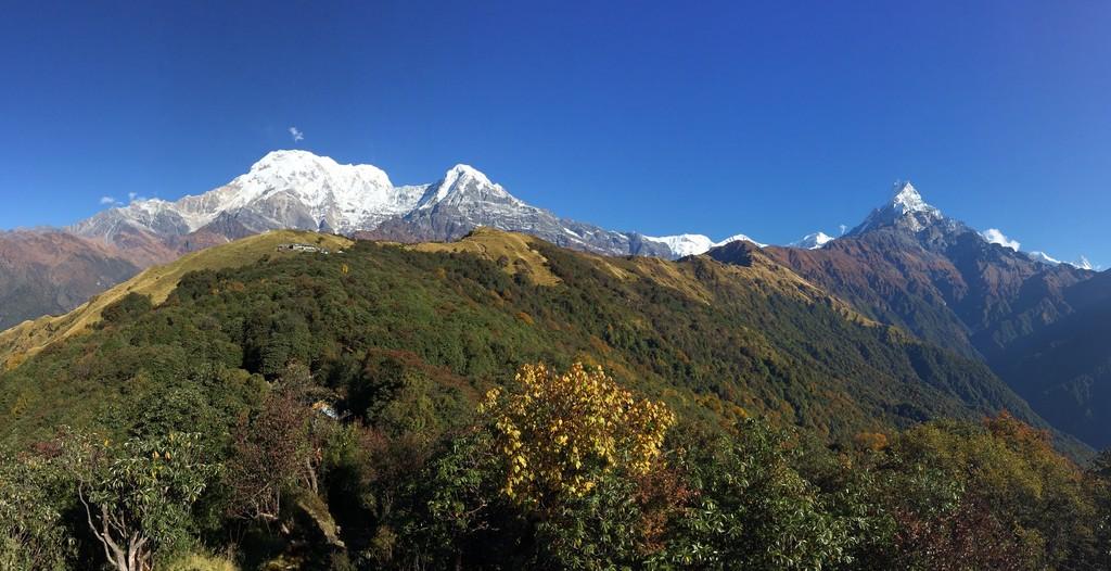 Machapuchare views