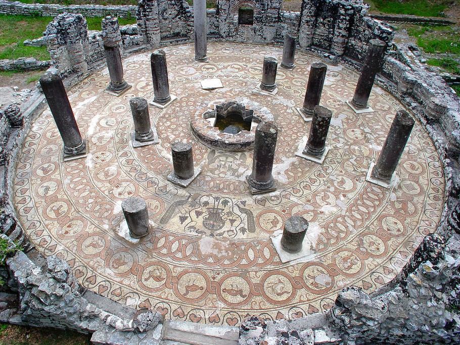 Ruins in Butrint National Park