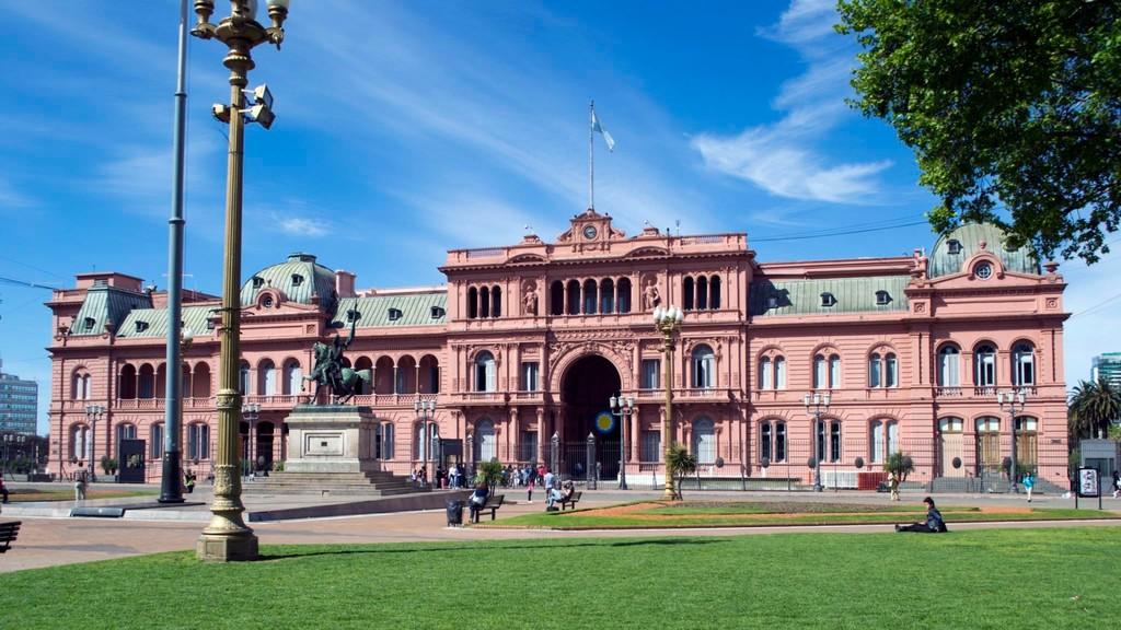 The Casa Rosada, Argentina's presidential palace