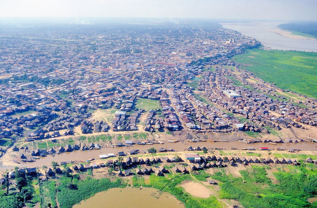 Iquitos from the air