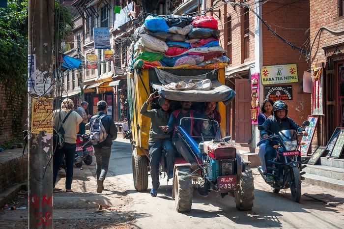 Drive back to Kathmandu