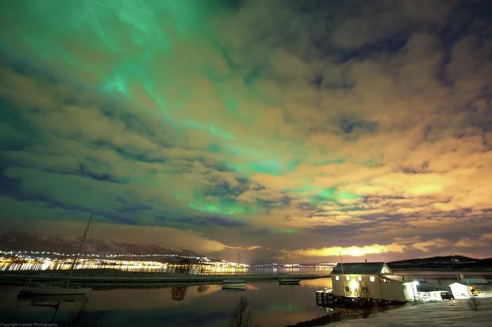 Morning in lavvoo and return to Tromsø