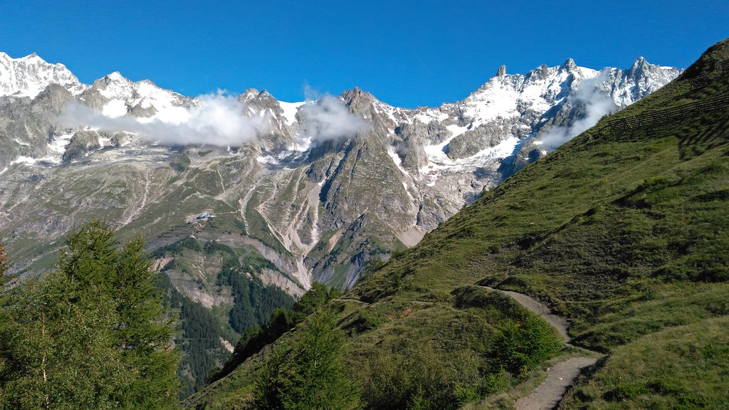 Trail on the Val Ferret