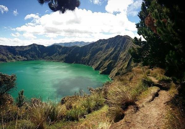 Voyage to Baños, Quilotoa