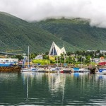 Tromsø's picturesque waterfront