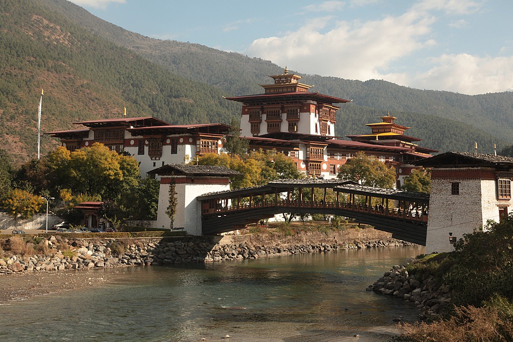 Beautiful Punakha Dzong