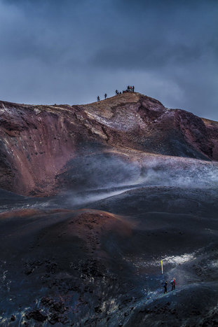 Fimmvörðuháls hike open tour