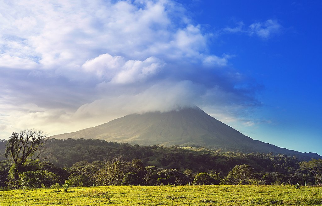 View of the Arenal Volcano