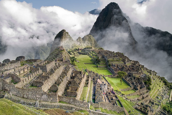 The citadel of Machi Picchu