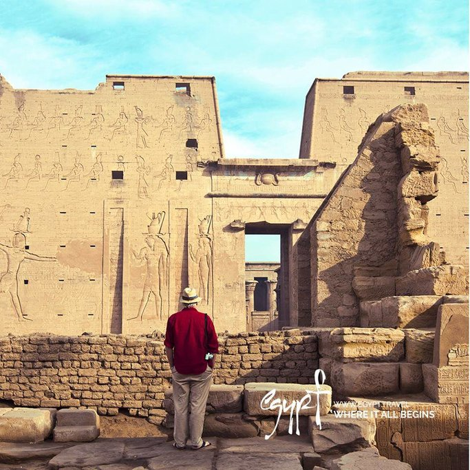Exploring ancient temples on a Nile River cruise