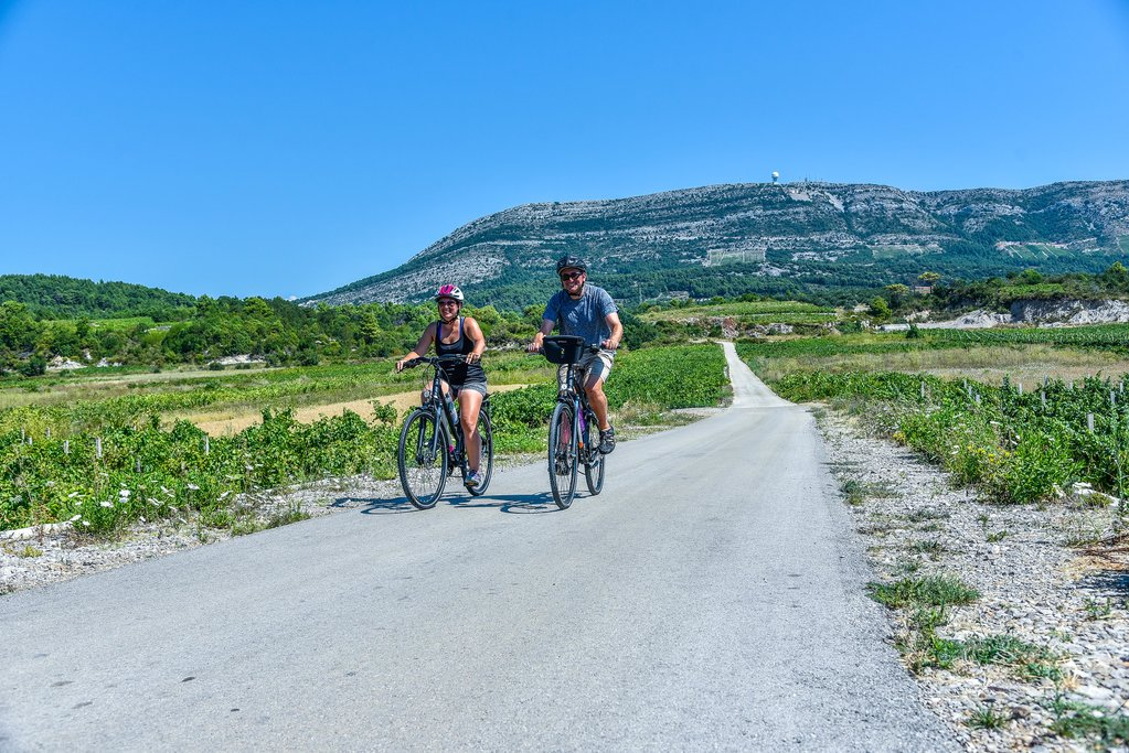Cycling on the Pelješac Peninsula